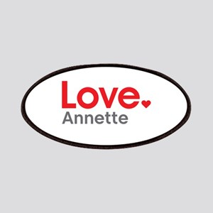 Love Annette Patches