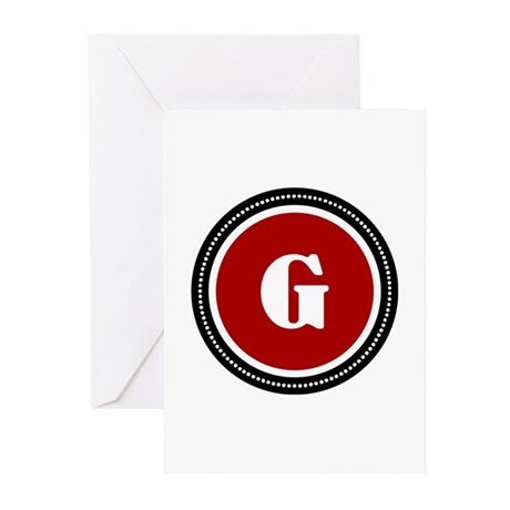 Red Greeting Cards (Pk of 10)