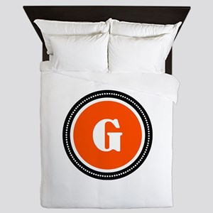 Orange Queen Duvet