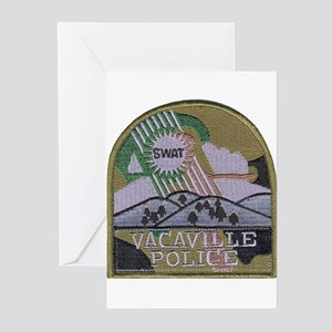 Vacaville PD SWAT Greeting Cards (Pk of 10)