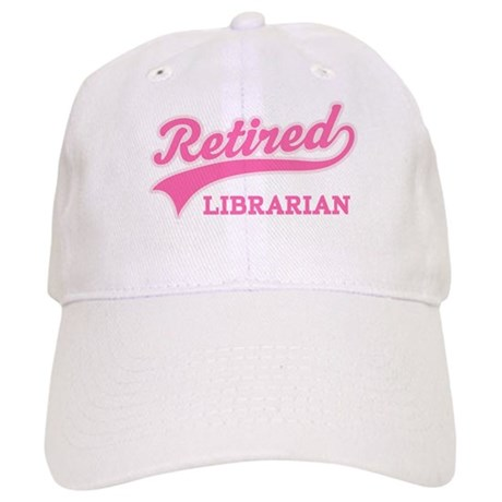 Retired Librarian Gift Cap