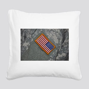 These are my colors Square Canvas Pillow