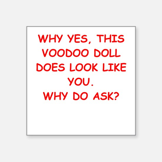 VOODOO Sticker