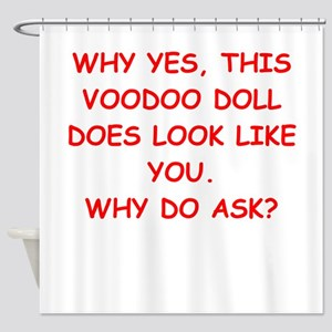 VOODOO Shower Curtain