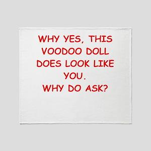 VOODOO Throw Blanket