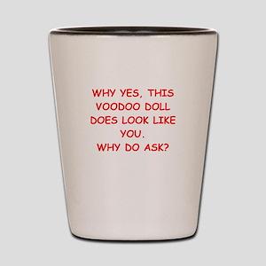 VOODOO Shot Glass