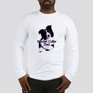 border collie dad Long Sleeve T-Shirt