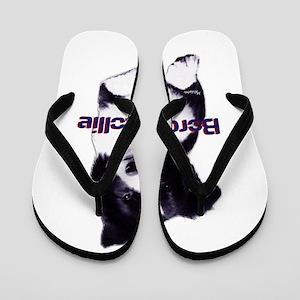 border collie dad Flip Flops