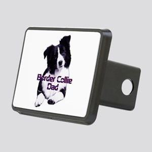 border collie dad Rectangular Hitch Cover