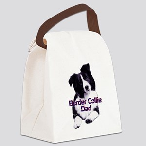 border collie dad Canvas Lunch Bag