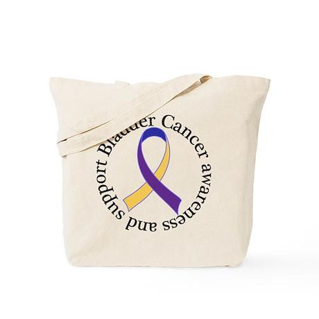 Bladder Cancer Awareness Support Tote Bag