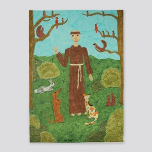 Saint Francis of Assisi 5'x7'Area Rug