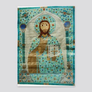 Christ the Teacher 5'x7'Area Rug
