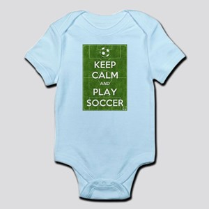 Keep Calm and Play Soccer Body Suit