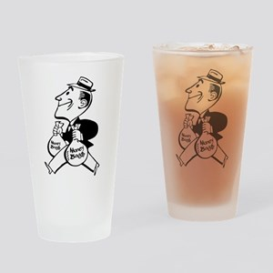 Mr. Money Bag$ Drinking Glass