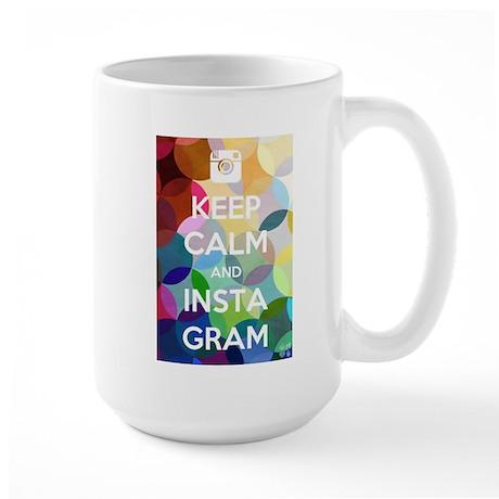 Keep Calm and Insta Gram Mug