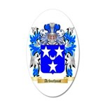 Arbuthnot 35x21 Oval Wall Decal