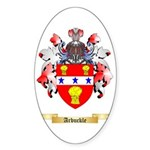 Arbuckle Sticker (Oval 50 pk)