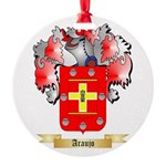 Araujo Round Ornament