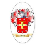 Araujo Sticker (Oval 50 pk)