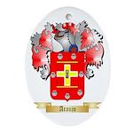 Araujo Ornament (Oval)