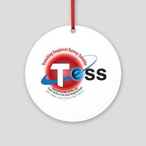 TESS Program Logo Round Ornament