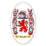 Aranda Sticker (Oval 10 pk)