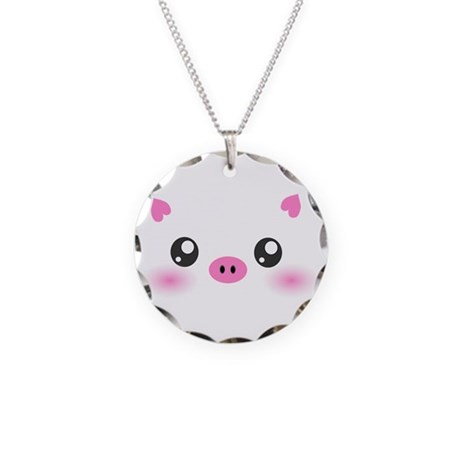 Cute Pig Necklace