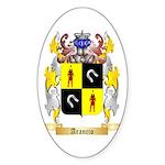 Arancio Sticker (Oval 10 pk)