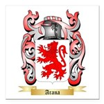 Arana Square Car Magnet 3