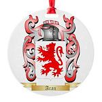 Aran Round Ornament