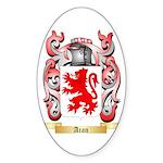 Aran Sticker (Oval 50 pk)