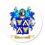 Aragoneses Round Car Magnet