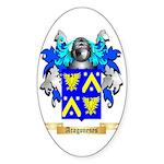 Aragoneses Sticker (Oval)
