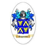 Aragoneses Sticker (Oval 10 pk)