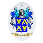 Aragoneses Ornament (Oval)