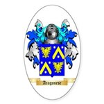 Aragonese Sticker (Oval 50 pk)