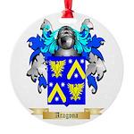 Aragona Round Ornament