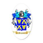 Aragona Oval Car Magnet