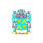 Aragon Sticker (Rectangle 10 pk)