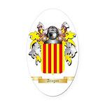 Aragon (2) Oval Car Magnet