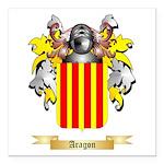 Aragon (2) Square Car Magnet 3