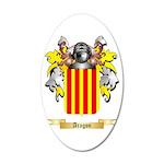 Aragon (2) 20x12 Oval Wall Decal