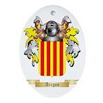 Aragon (2) Ornament (Oval)