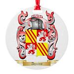 Aquino Round Ornament