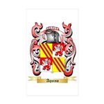 Aquino Sticker (Rectangle 50 pk)