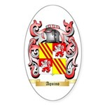 Aquino Sticker (Oval 50 pk)