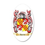 Aquino 35x21 Oval Wall Decal