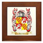 Aquino Framed Tile