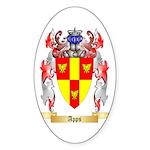 Apps Sticker (Oval 50 pk)